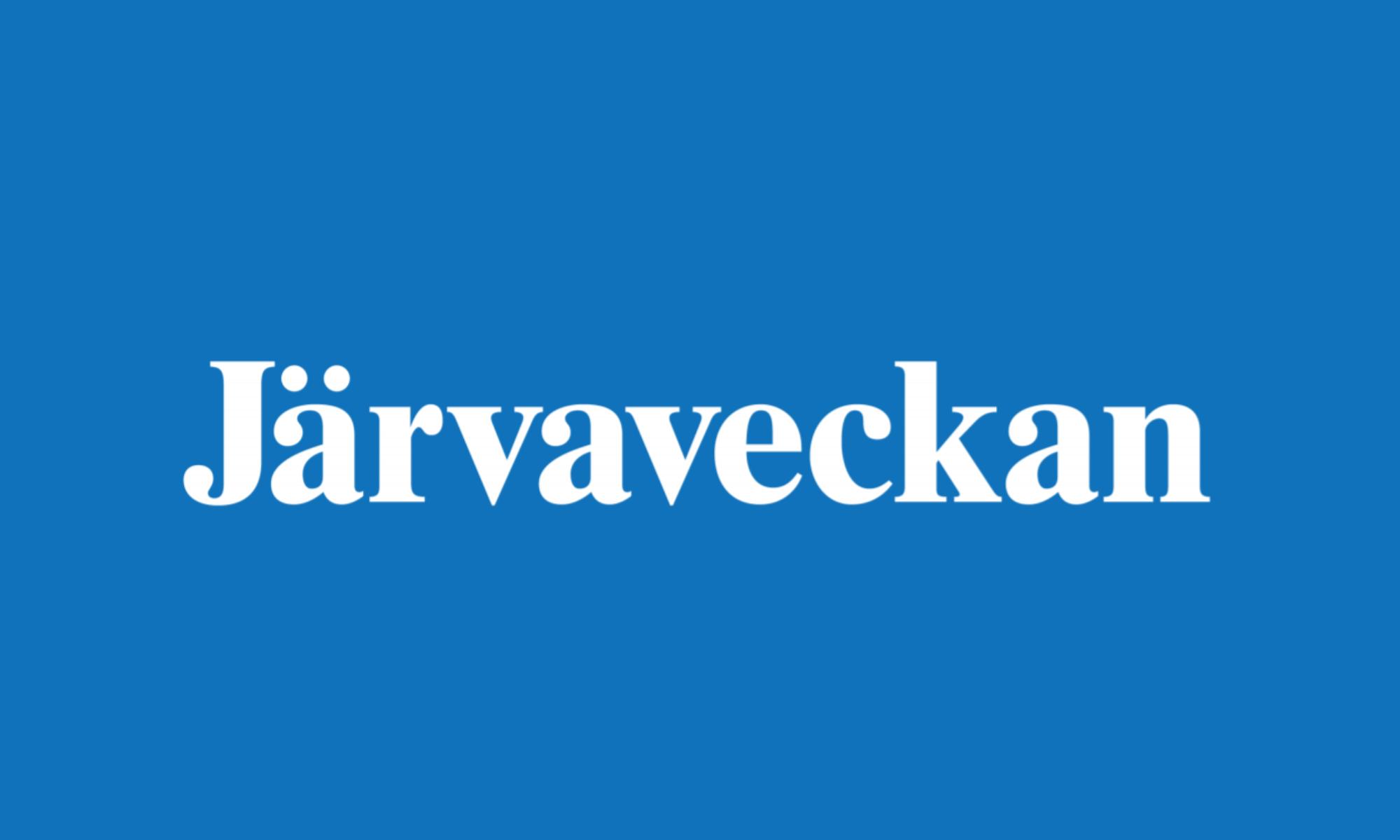 VÄLKOMMEN TILL JÄRVAVECKAN 2018